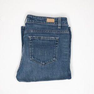 Paige jeans EUC rising glen high waist 31